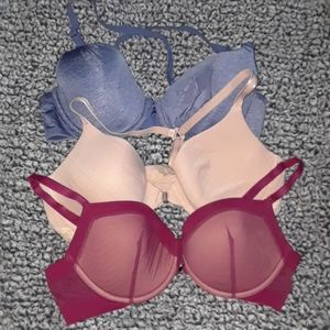NEW Lot of 3 Adore Me 36C bras